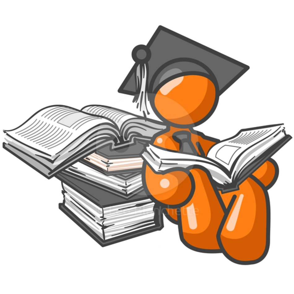 Study clipart college study. Male student free image