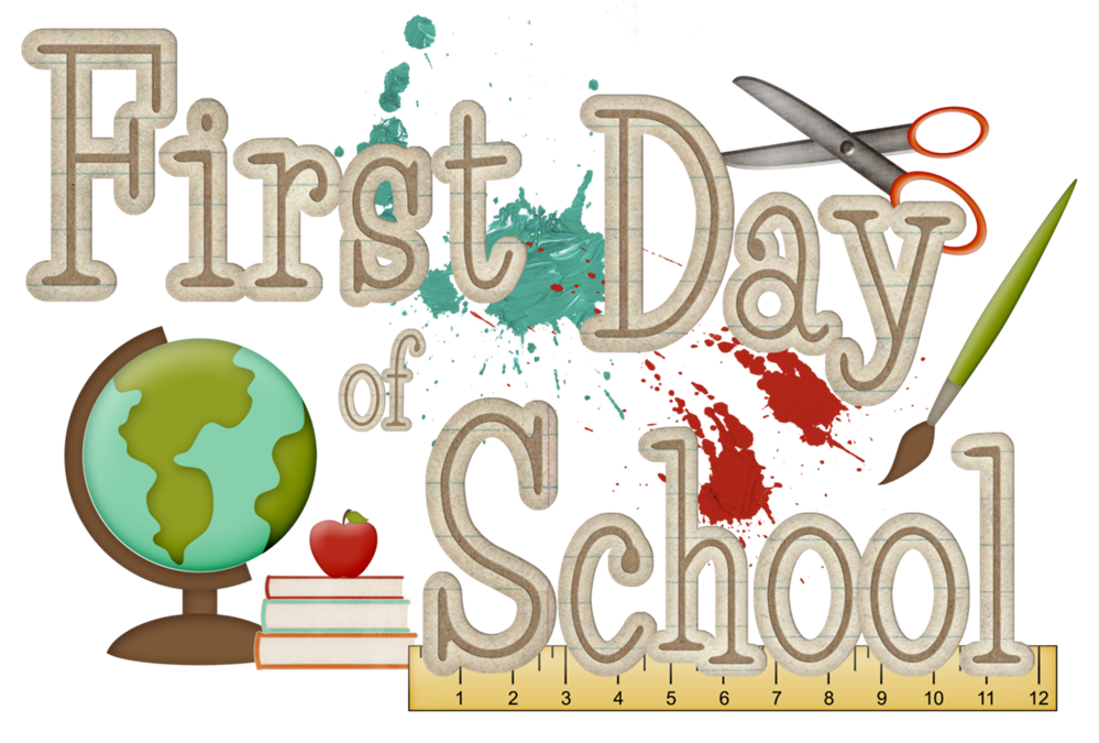 College clipart days. School news first day