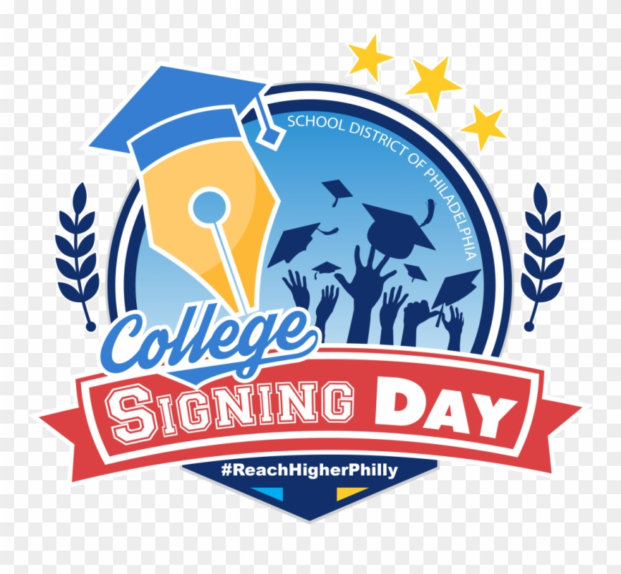 College clipart days. Signing day pinclipart