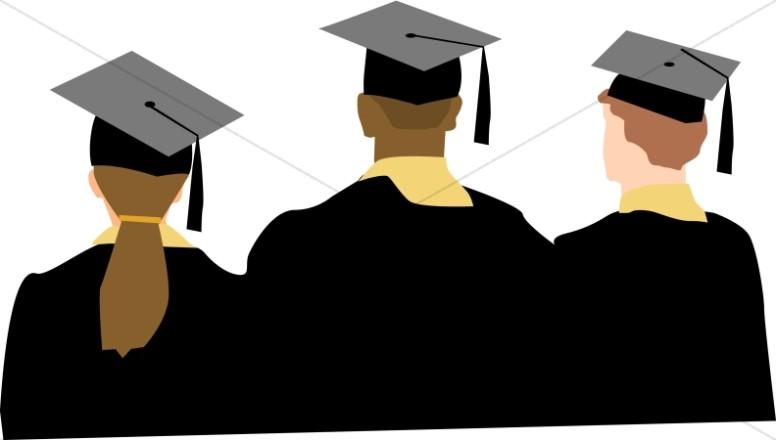 Graduation clipart college. Ceremony graduate pencil and