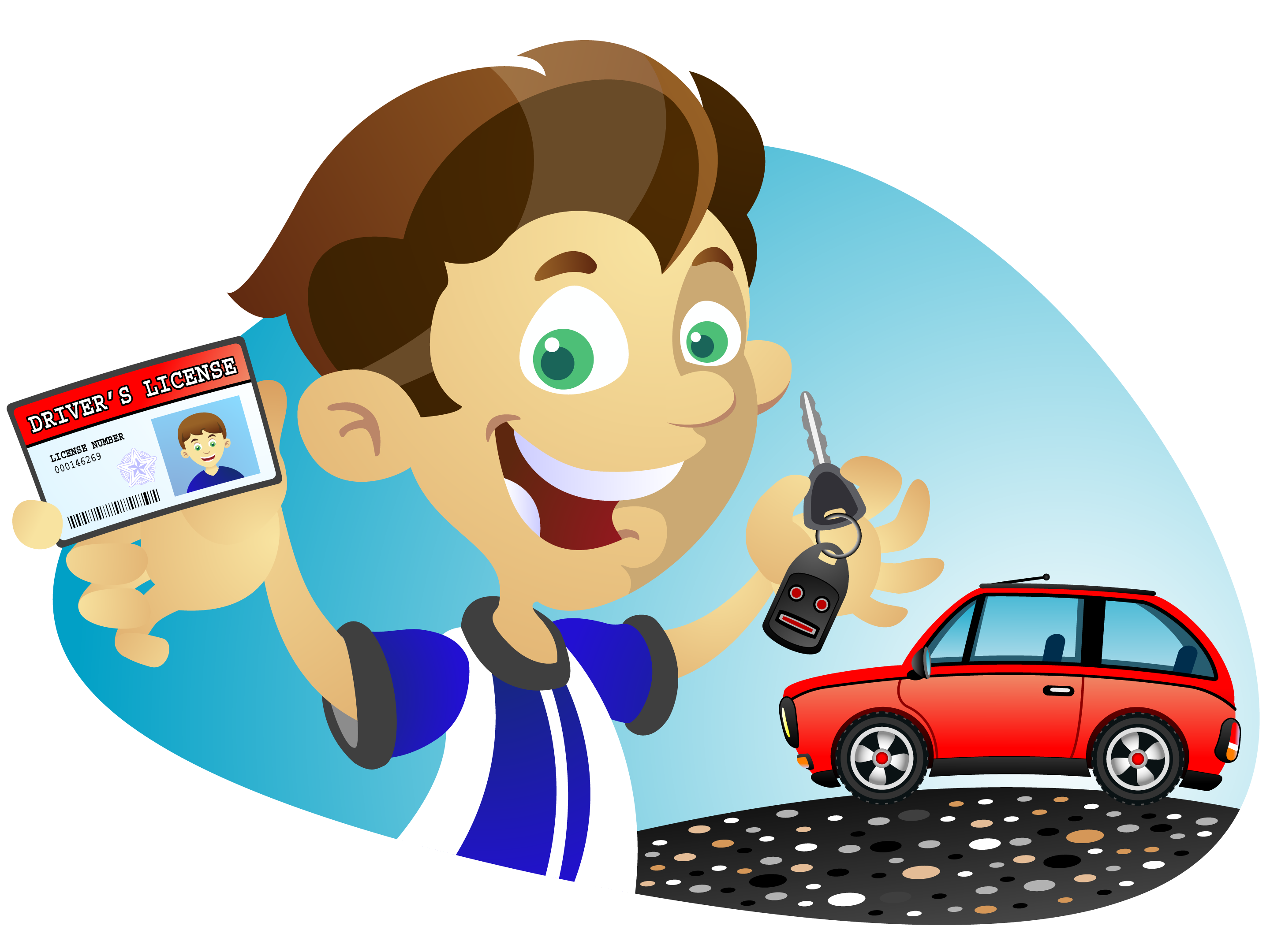 Drivers license clipart learners. Weybridge driving lessons hours