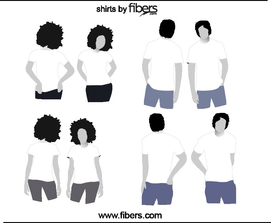 Free vector t shirt. Zipper clipart illustrator