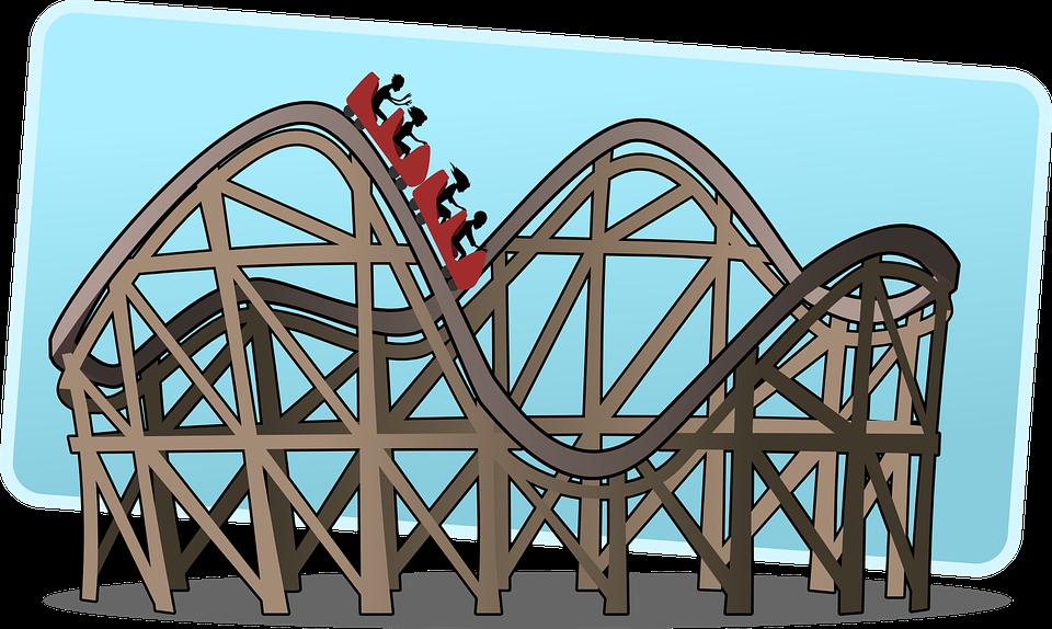 Rollercoaster clipart mechanical energy.  cedar point trip