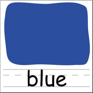 Color clipart. Clip art colors blue