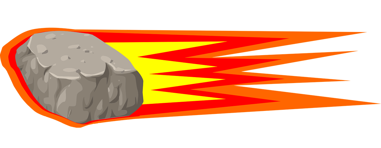 Meteor clipart astroid. Animated pencil and in