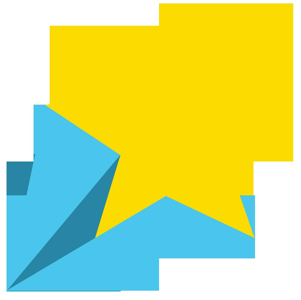 Color clipart background. Shooting star transparent pencil