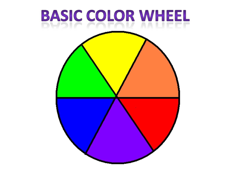 Colors clipart basic. Color wheel clip art