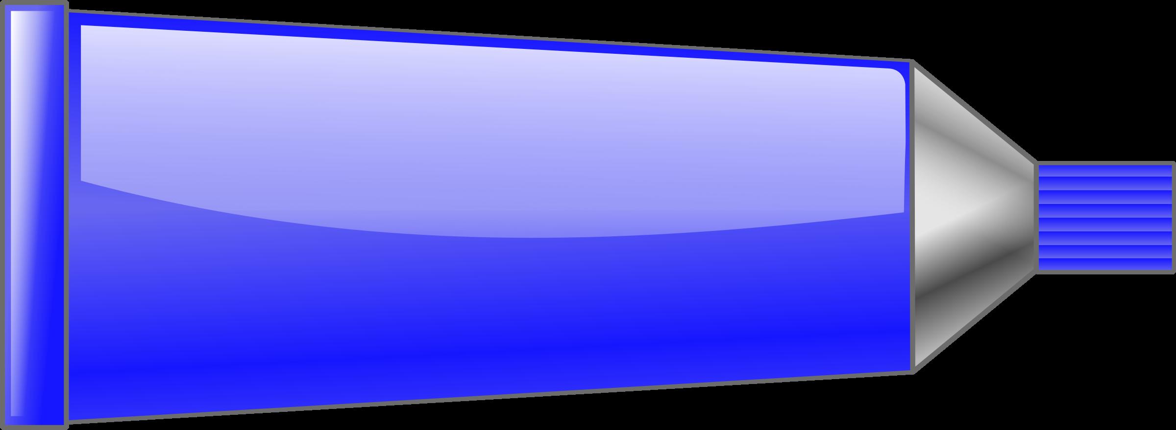 Tube big image png. Color clipart blue