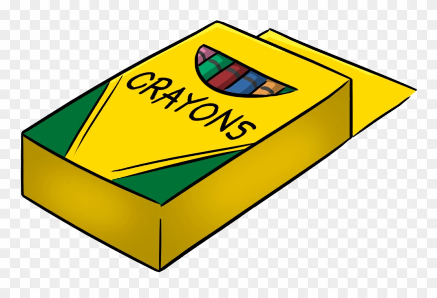 Free colored pencil cliparts. Crayons clipart box 10