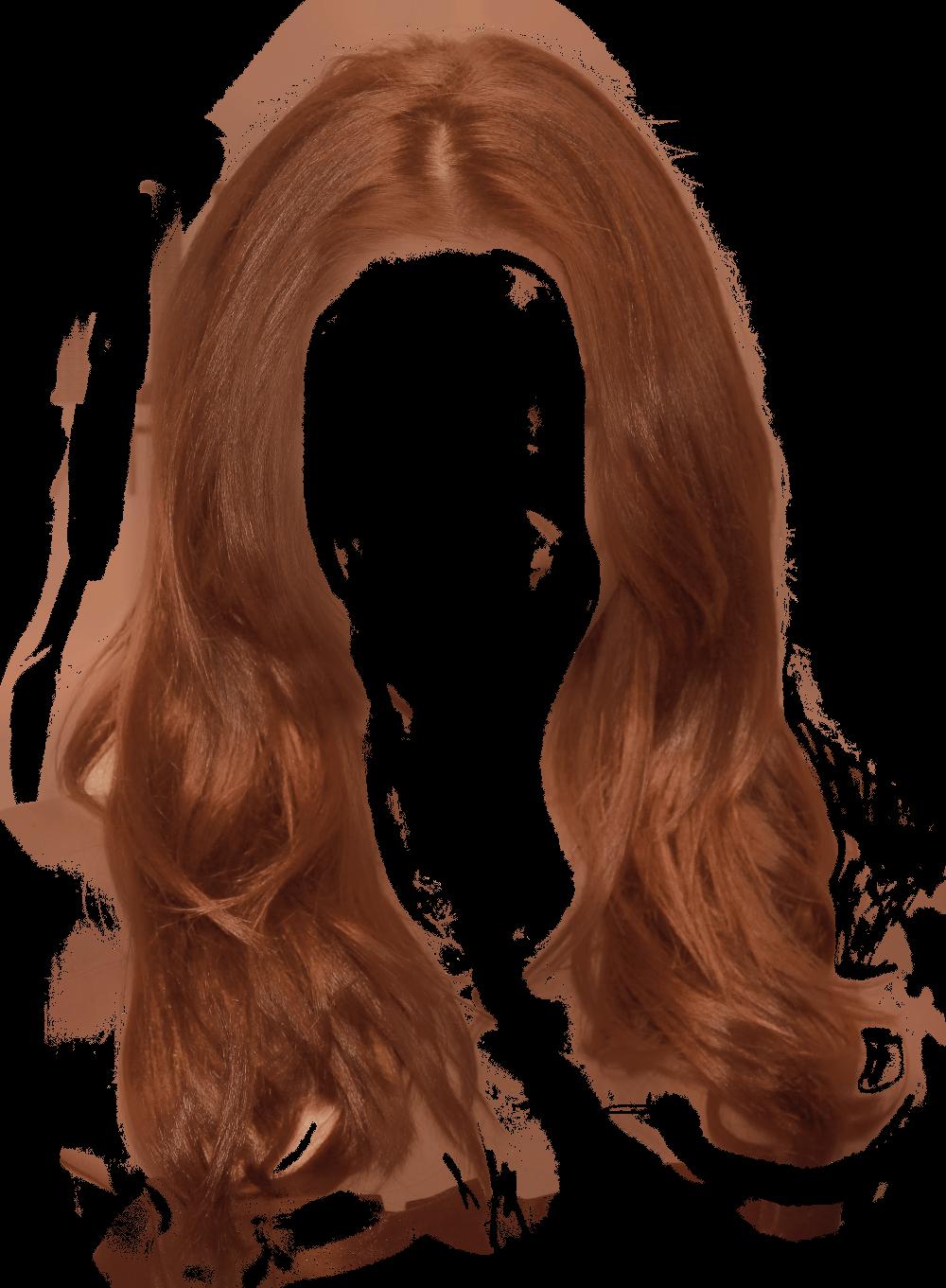 colors clipart brown hair
