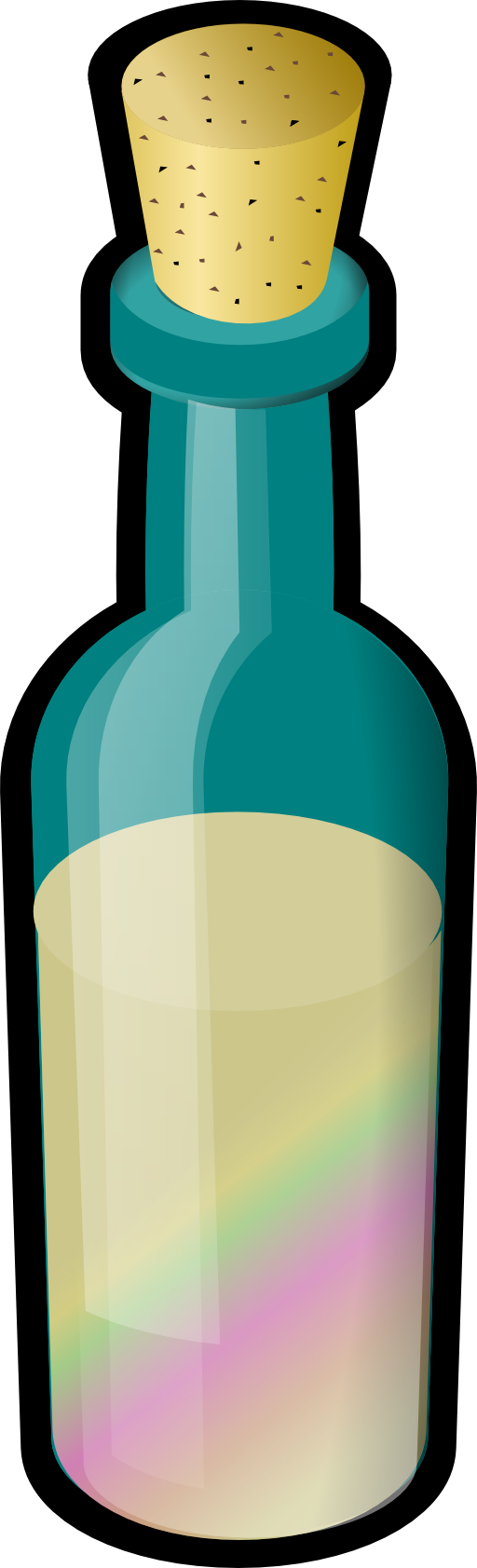 Grains clipart sand. Bottle of colored with
