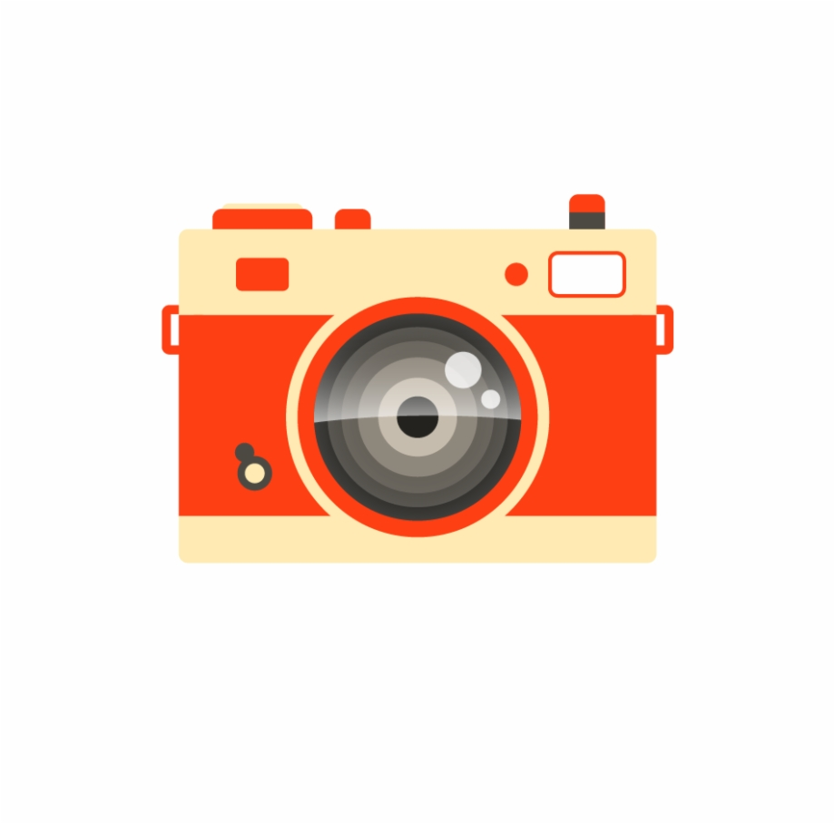 Photograph clipart color camera. Photography icon with