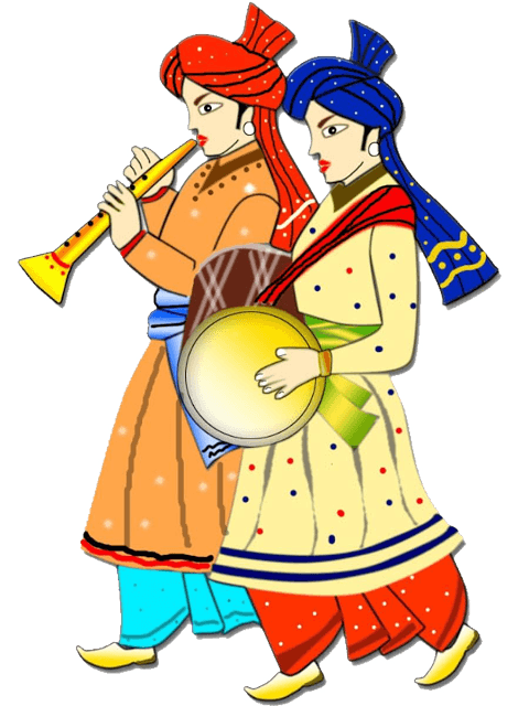 collection of wedding. Couple clipart bengali