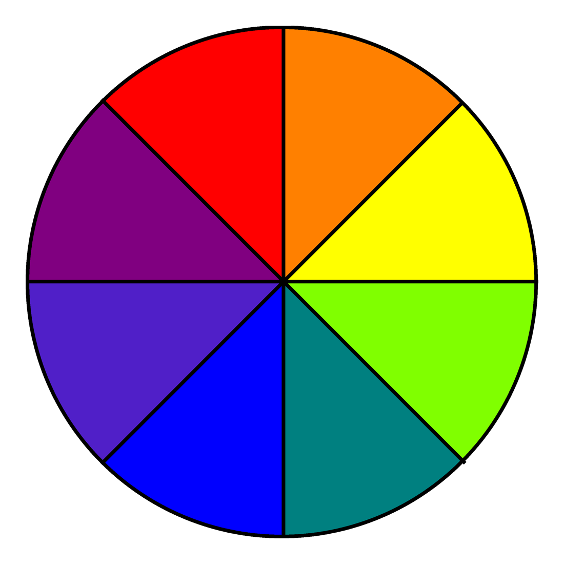 File eight colour d. Wheel clipart gulong