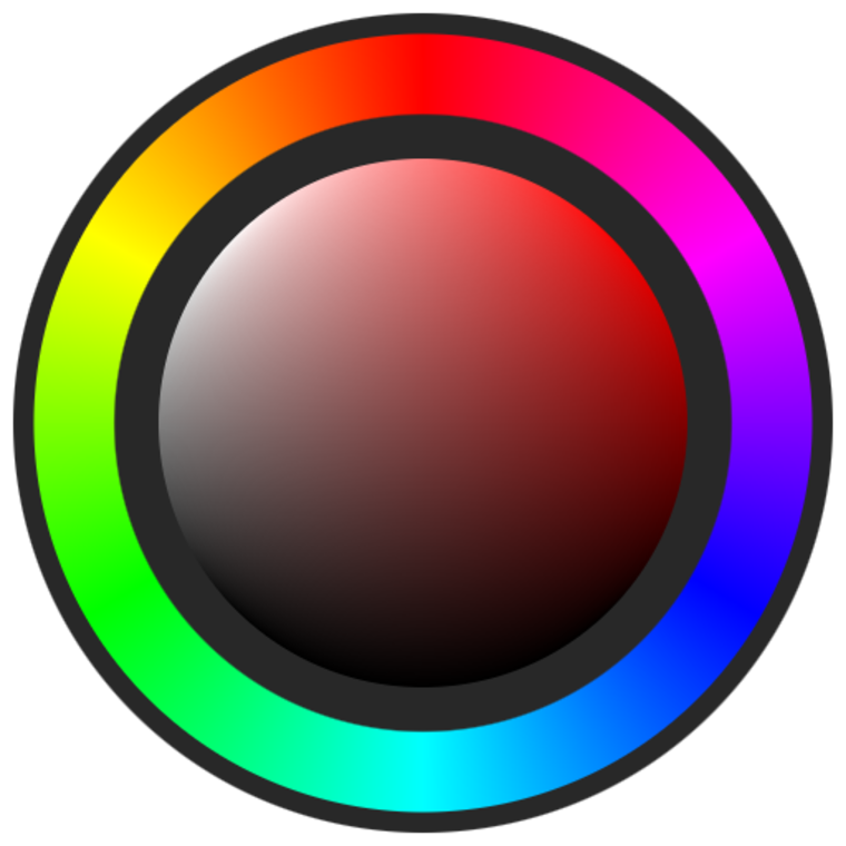 Substance share the free. Wheel clipart hue