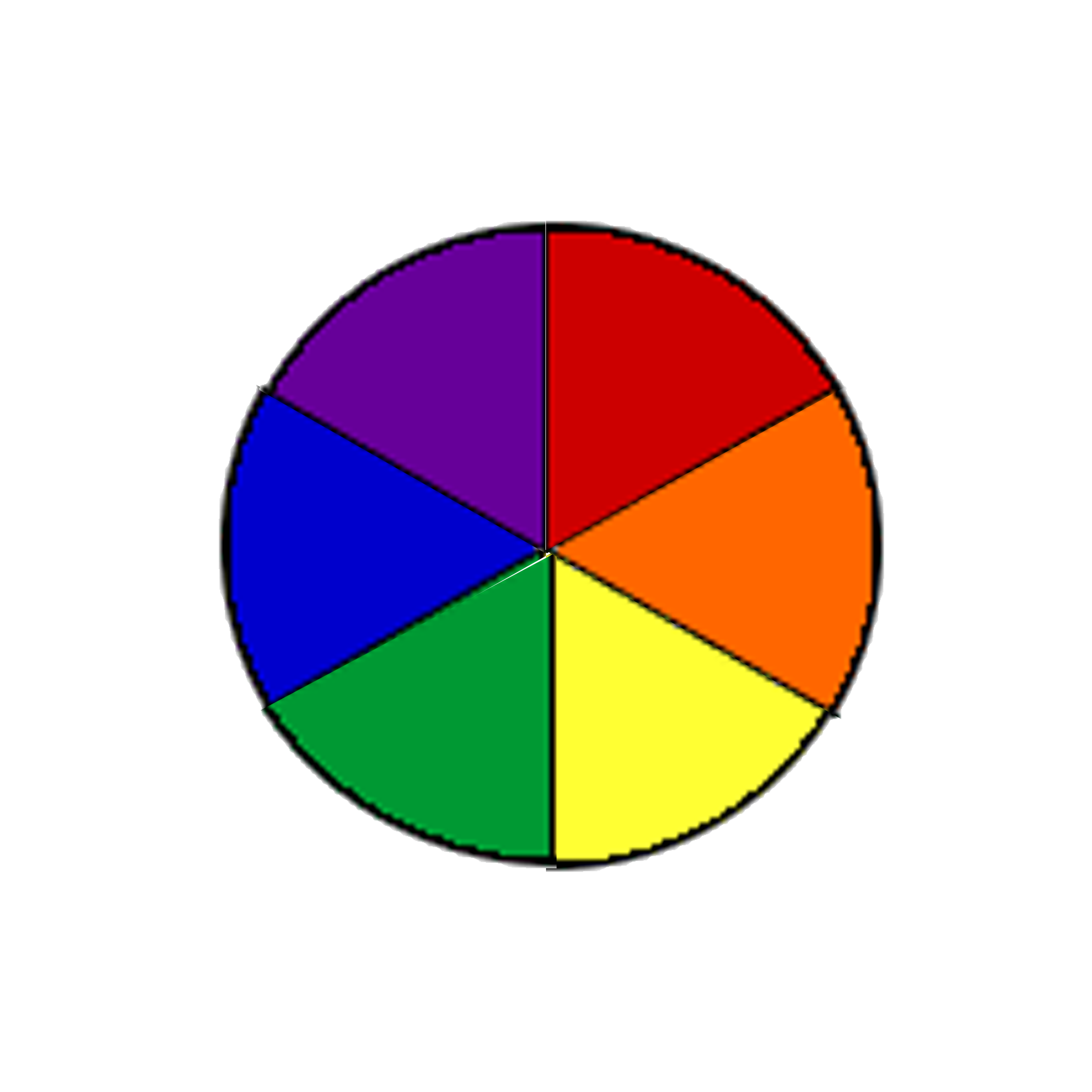 Wheel clipart circle shape. Color resources elementary lessons