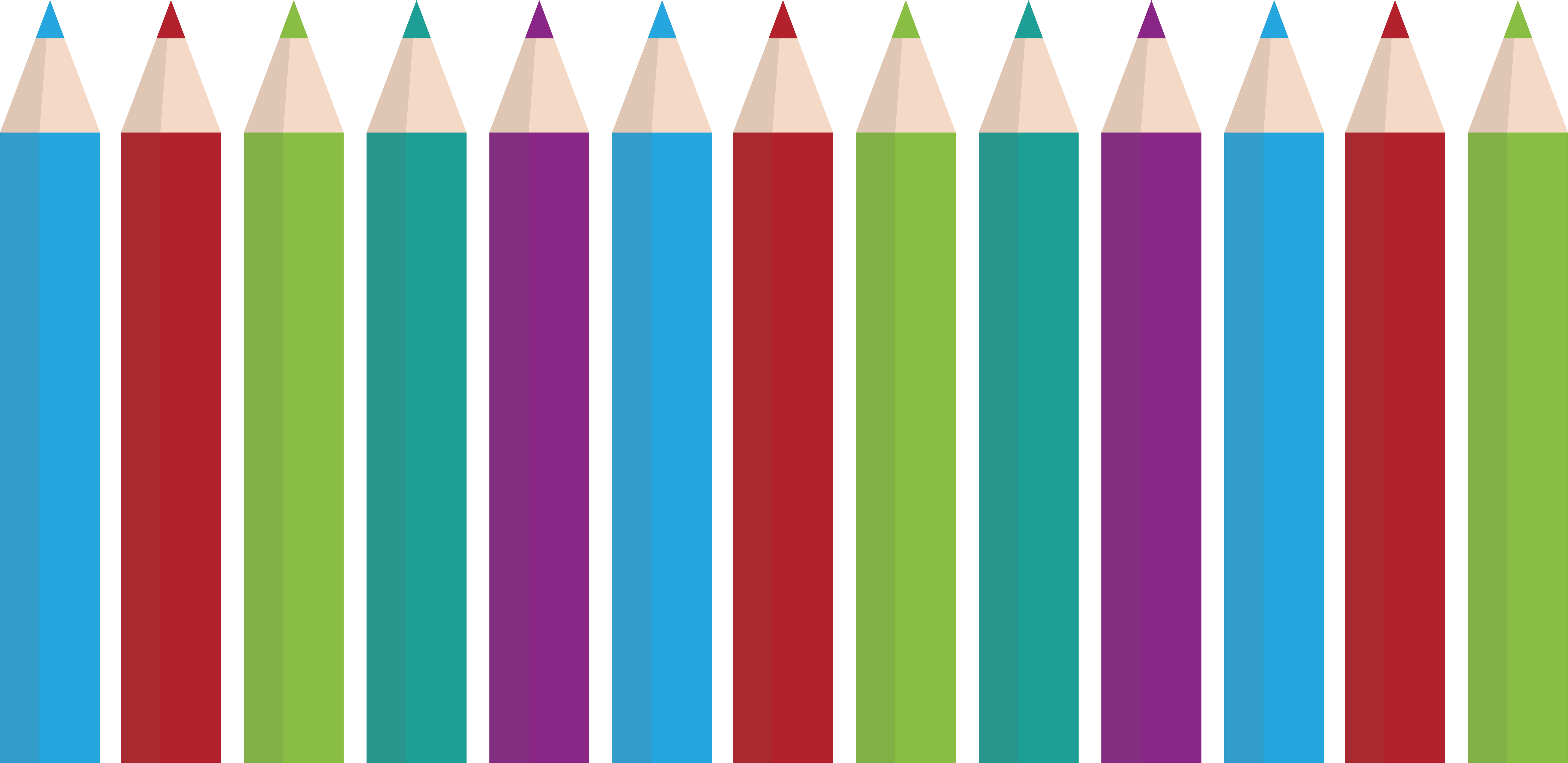 Crayons clipart color chart. Crayon colored pencil bar