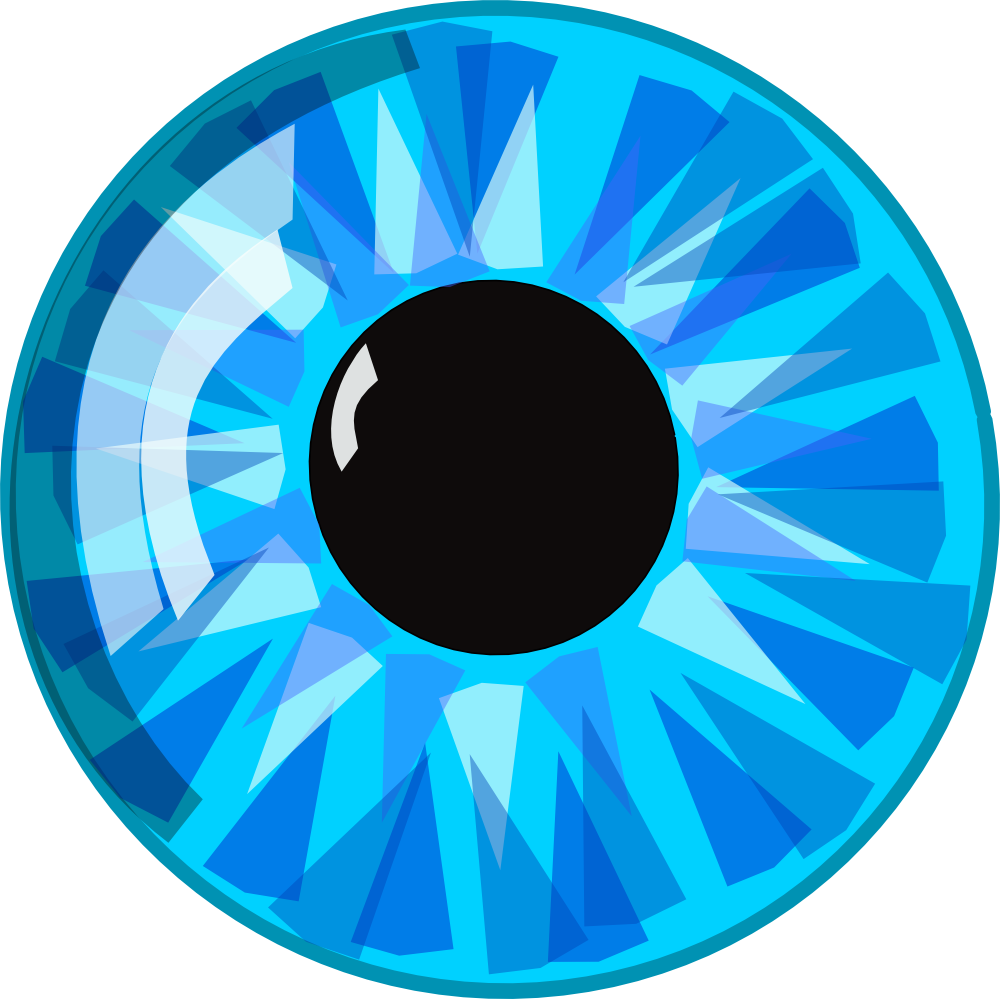 Eyeball clipart eye shape. Blue eyes hazel green
