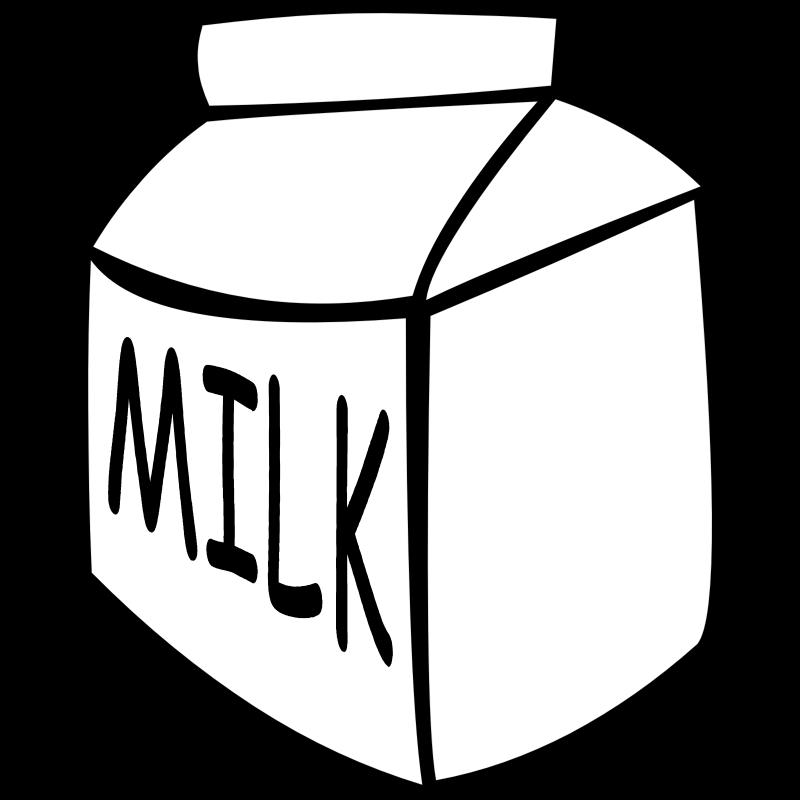Fast drinks milk clip. Drinking clipart food