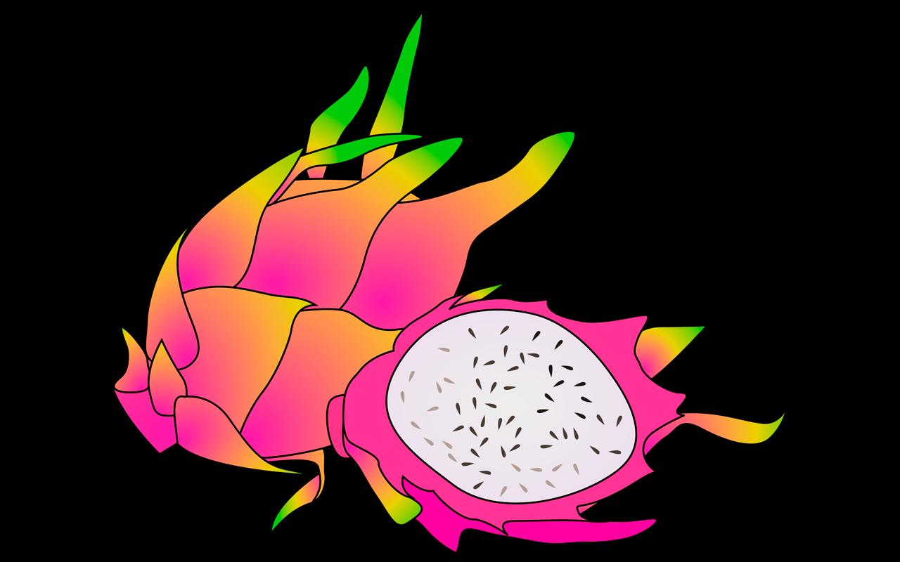 Color clipart fruit.  spectacular dragon names