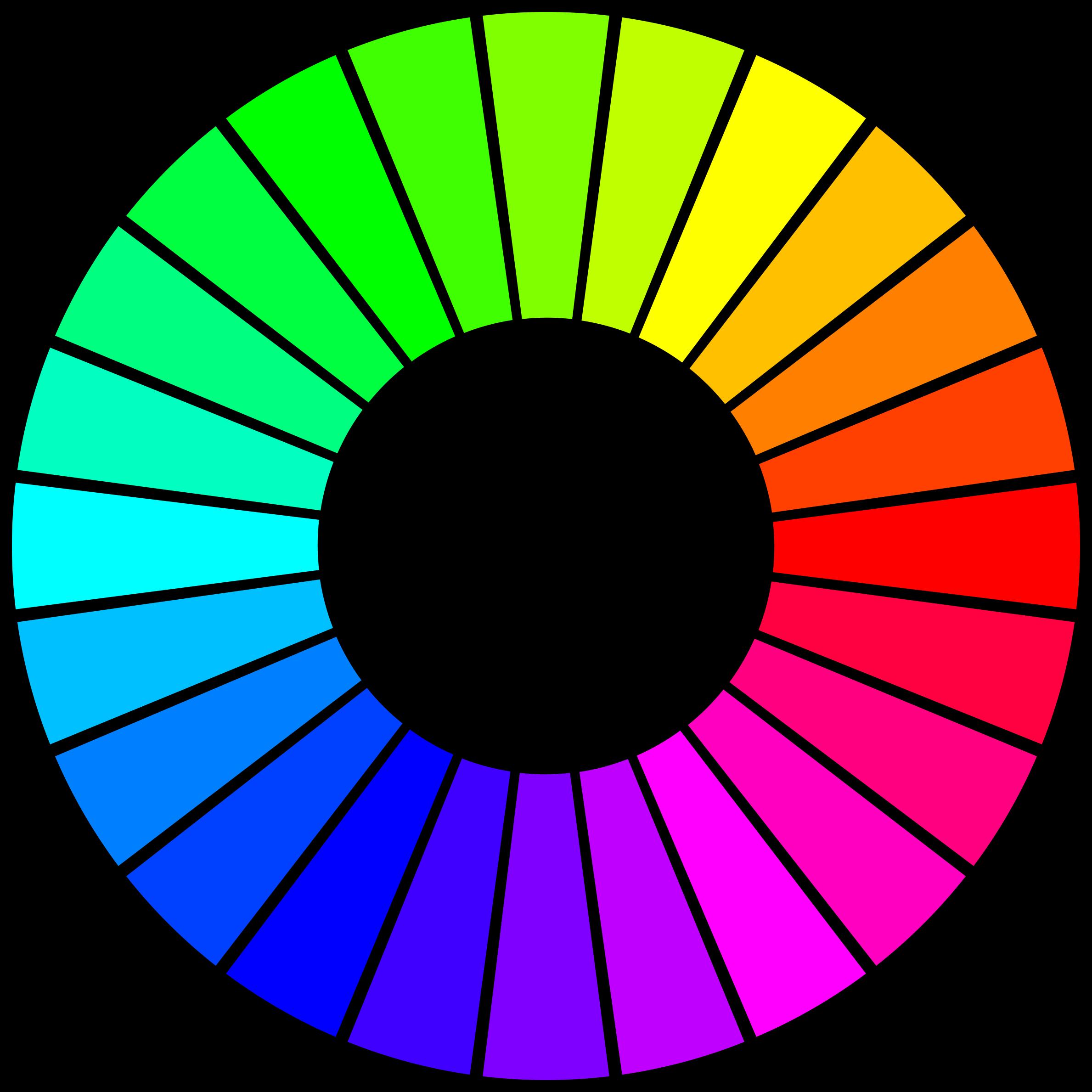 Wheel clipart circle thing. The hue big image