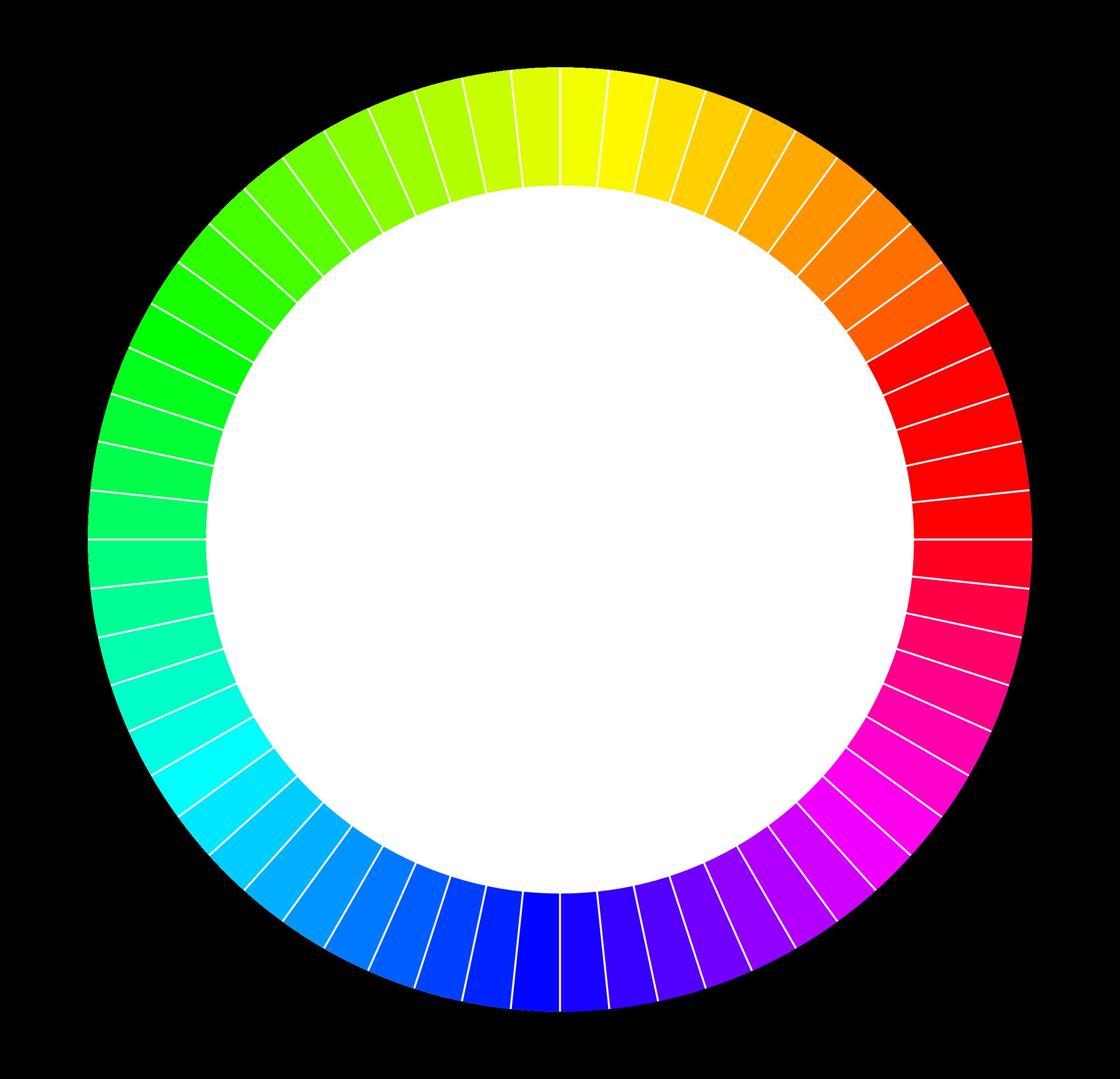 Wheel clipart hue. Color rgb minutes per