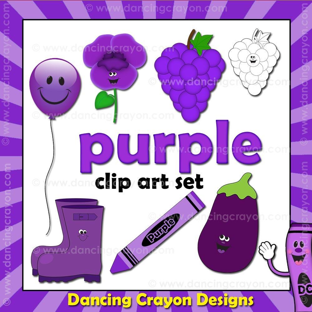 Colors clipart violet. Purple clip art things