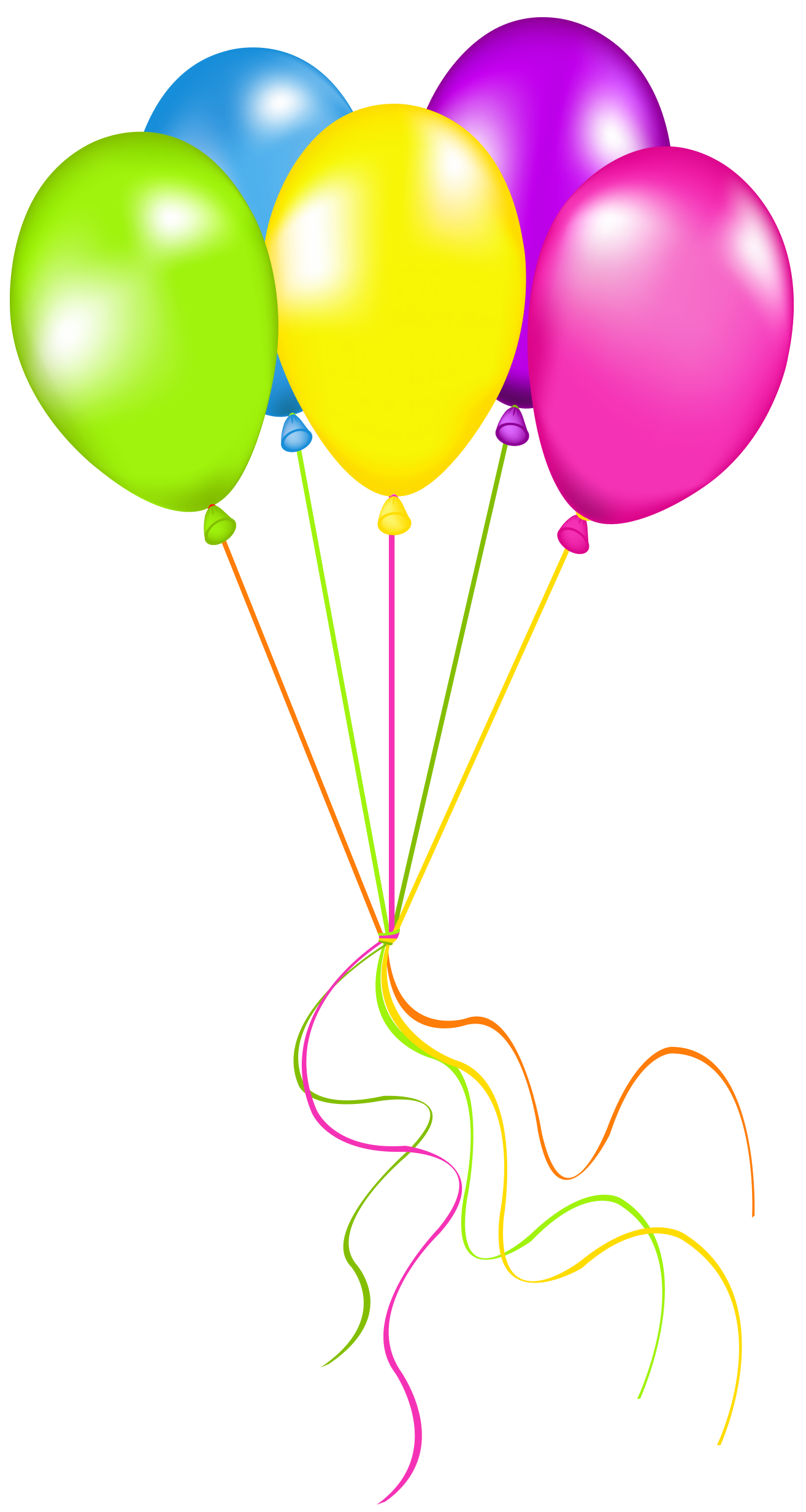 Balloons png picture art. Dot clipart neon