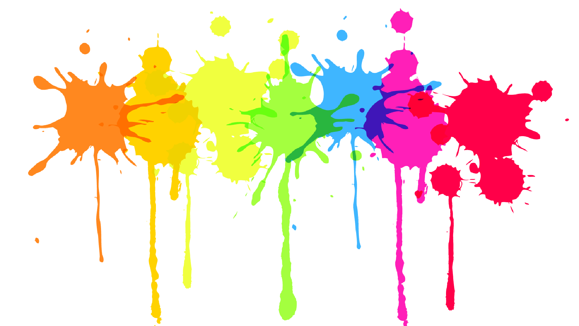 Painter clipart ceramic painting. Free color splat png