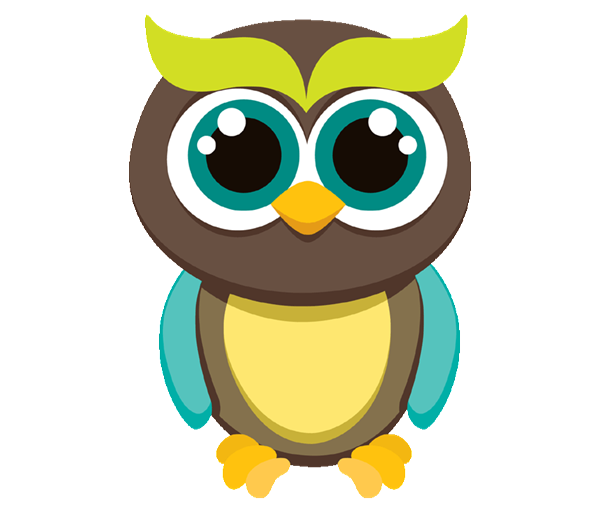 Colors clipart owl. Birthday invitations all choose