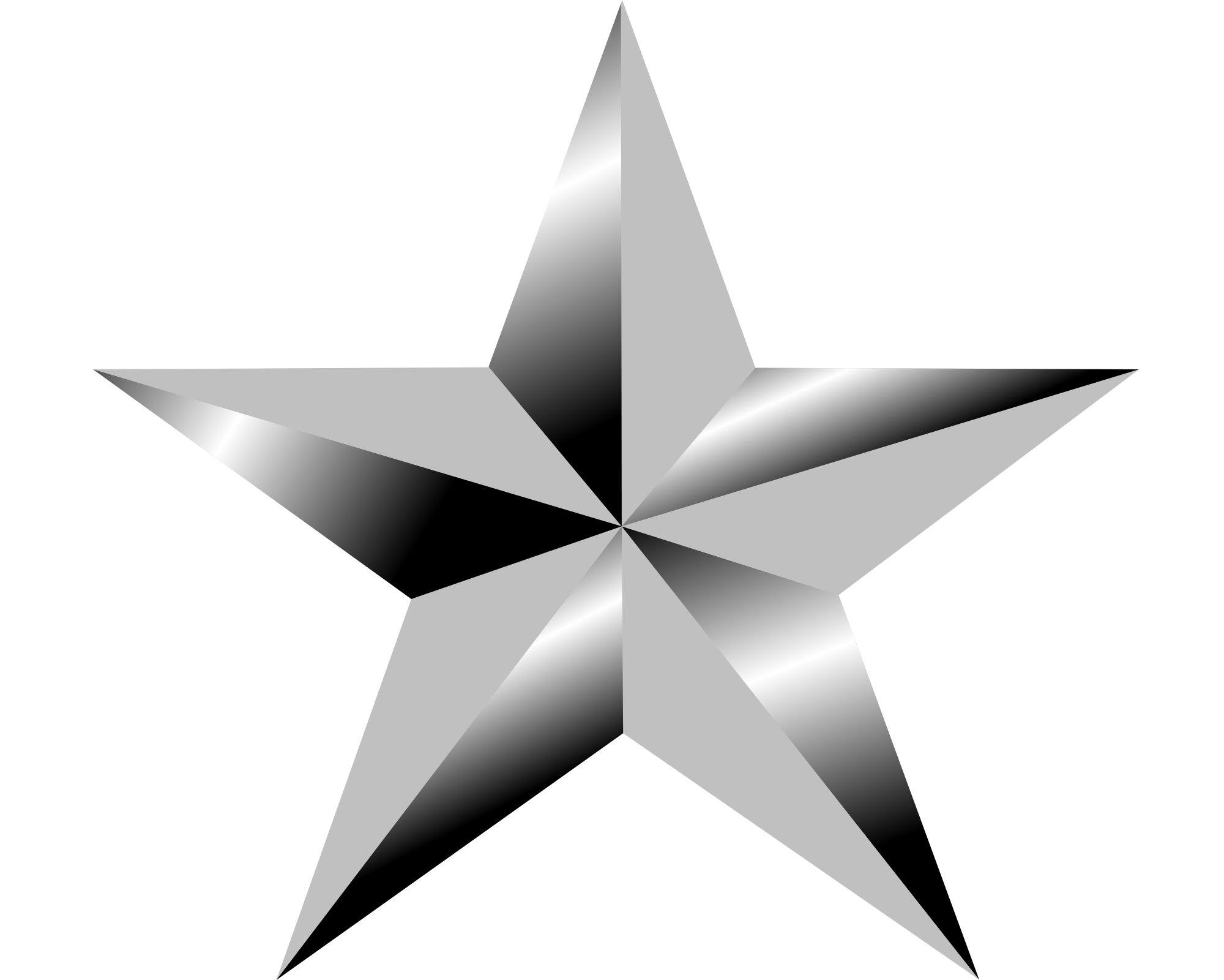 Star png image purepng. Color clipart silver