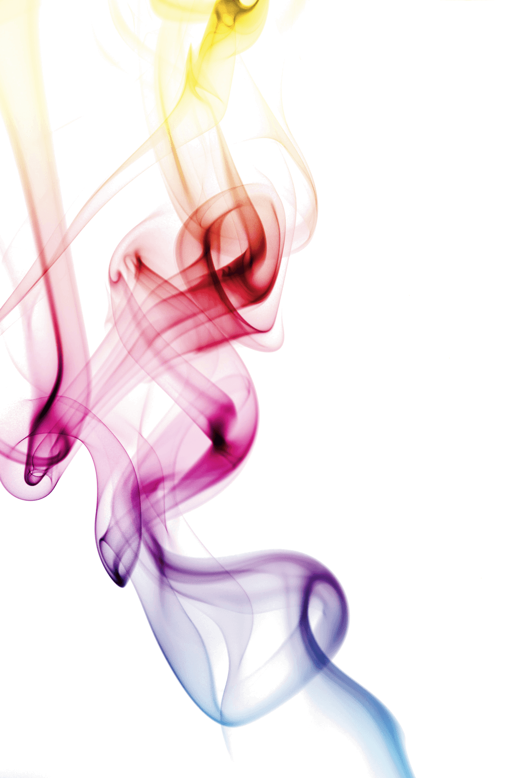 Color smoke png. Colorful clipart