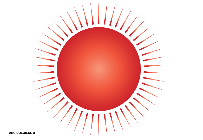 Sunset clipart red sun. Picture the classic image