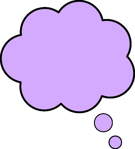 Color clipart thought bubble, Color thought bubble Transparent ...