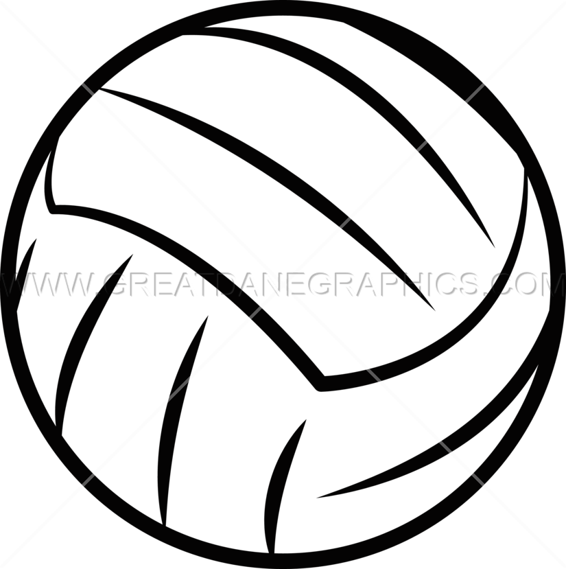 Production ready artwork for. Color clipart volleyball