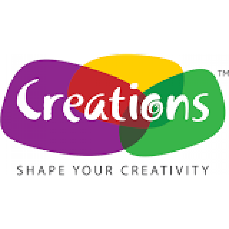 Creation chalk for fabric. Colors clipart wax crayon