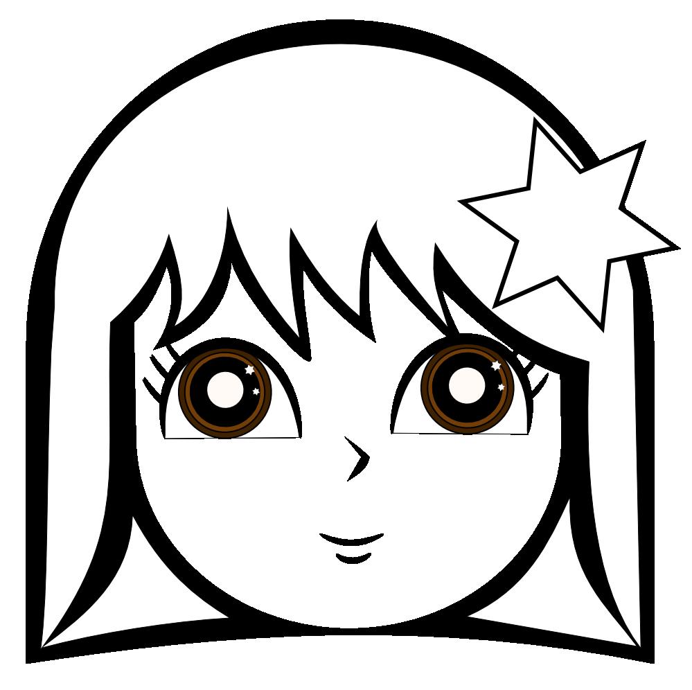 Girl clipart eye. Clipartist net wikimedia cute