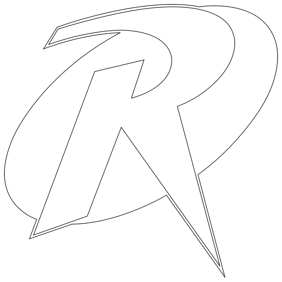 Coloring clipart batman. Logo template desktop backgrounds