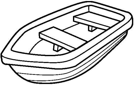 Pin by shreya thakur. Coloring clipart boat