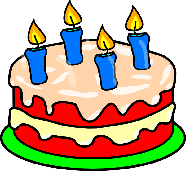 Chocolate cake free collection. Coloring clipart candle