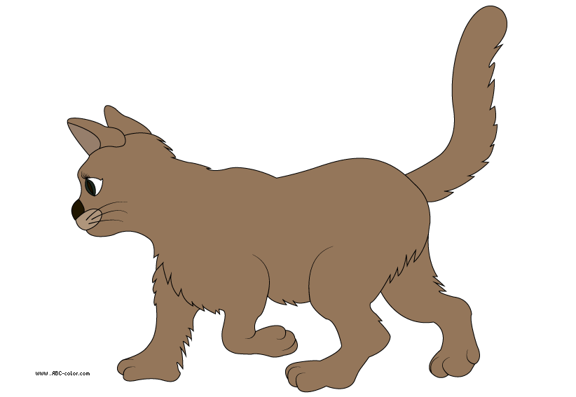 Coloring clipart cat. Picture he download bitmap