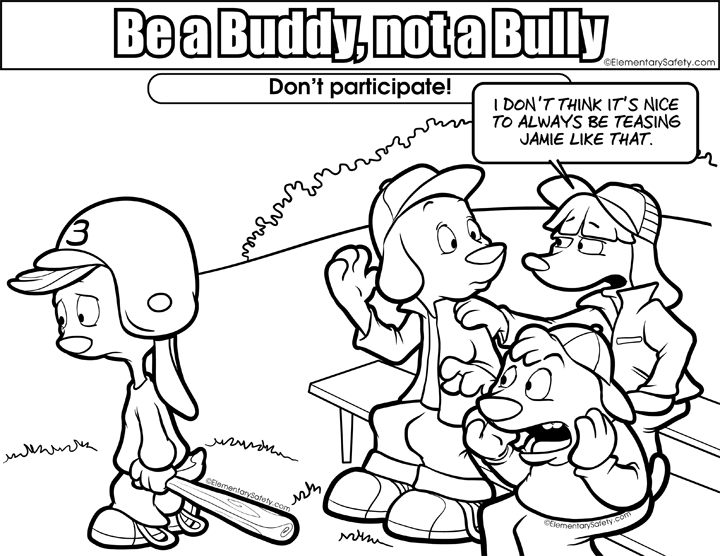 Respect clipart bullying. Peer pressure coloring pages