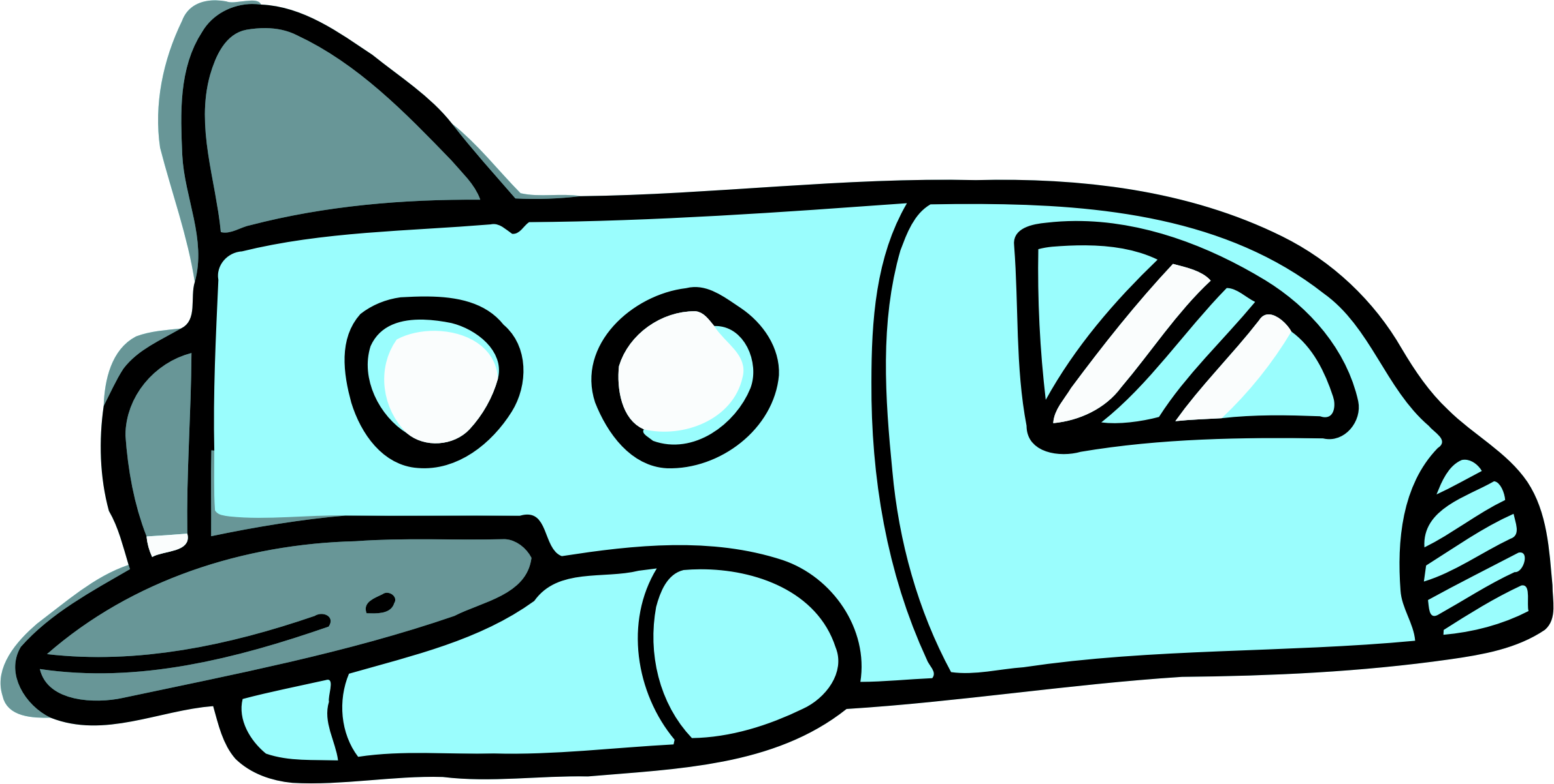 Space shuttle big image. Coloring clipart door