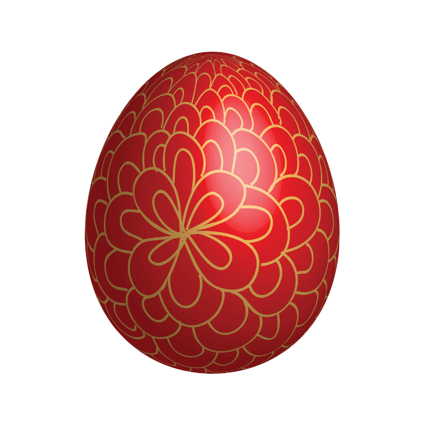 Red eggs images to. Nest clipart easter egg