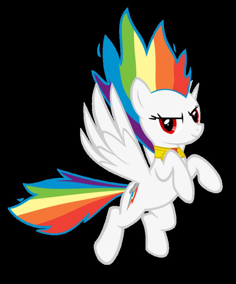 Coloring clipart fan. Image super rainbow dash