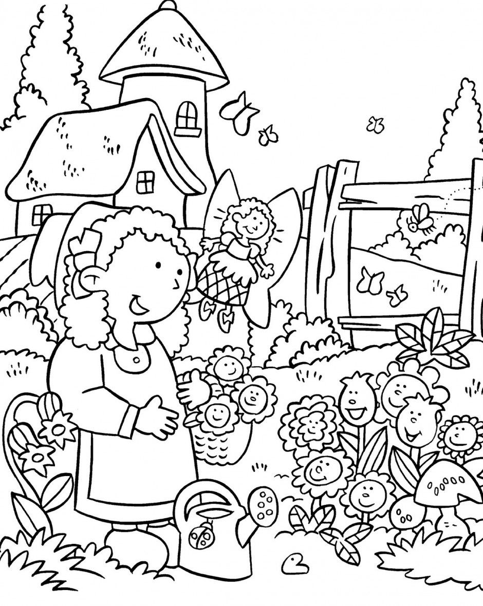 Garden google search cliparts. Gardening clipart black and white