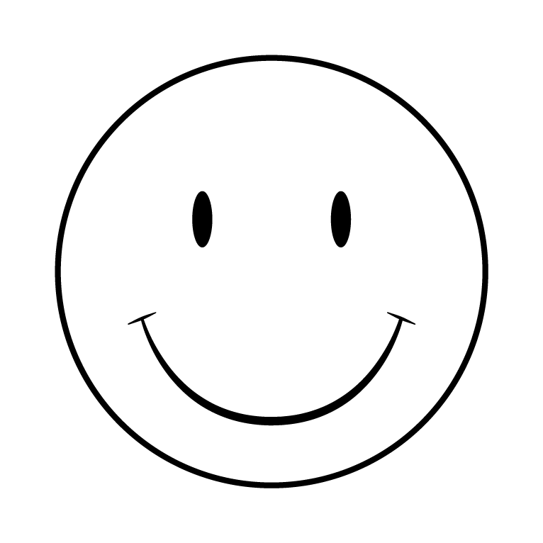 Printable smiley faces www. Coloring clipart garden