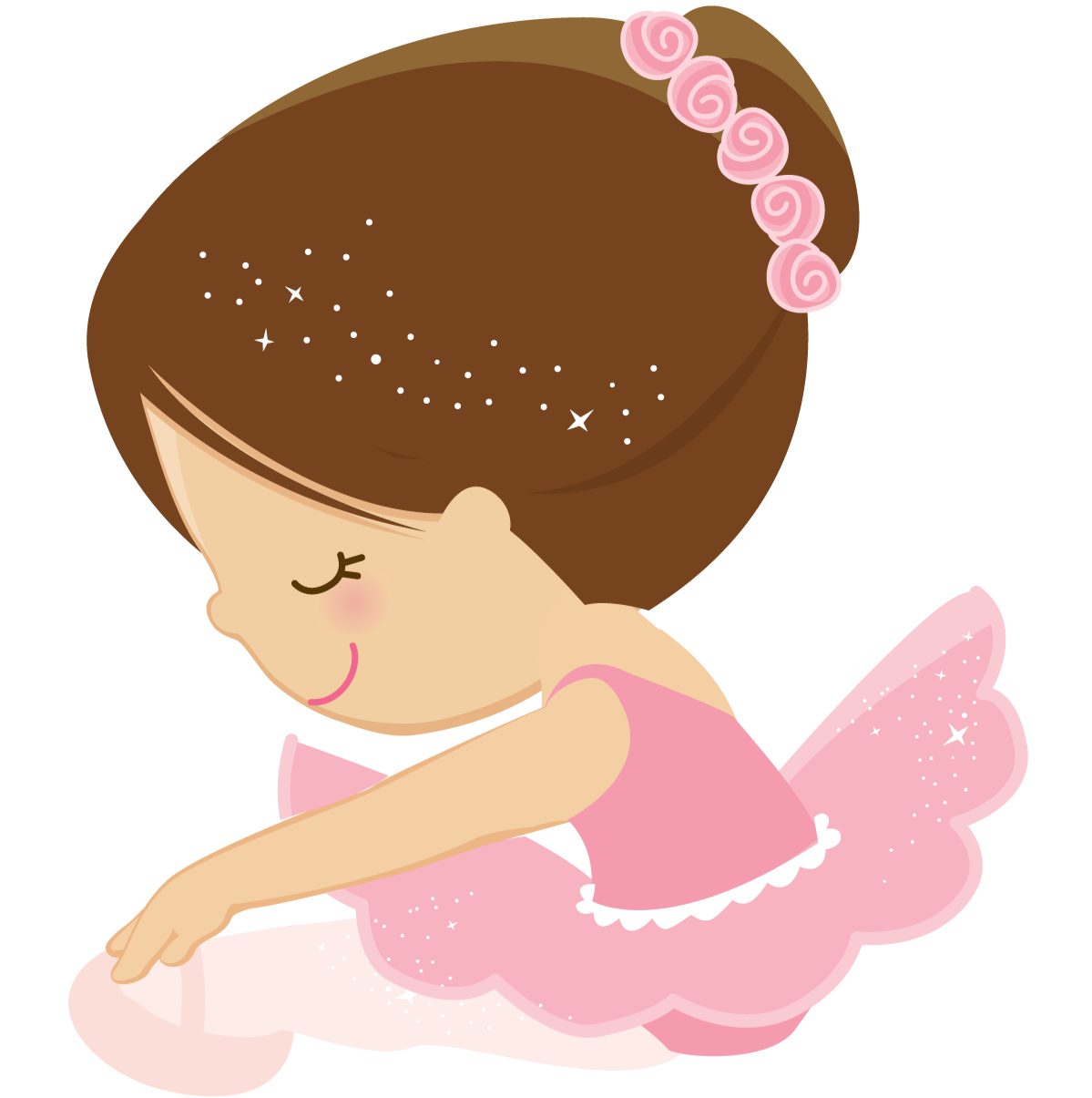 Florida clipart pink. Ballerina princess ballet cute