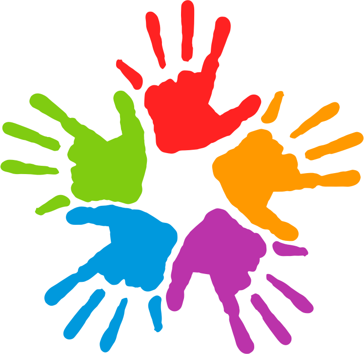 kind clipart clasped hand
