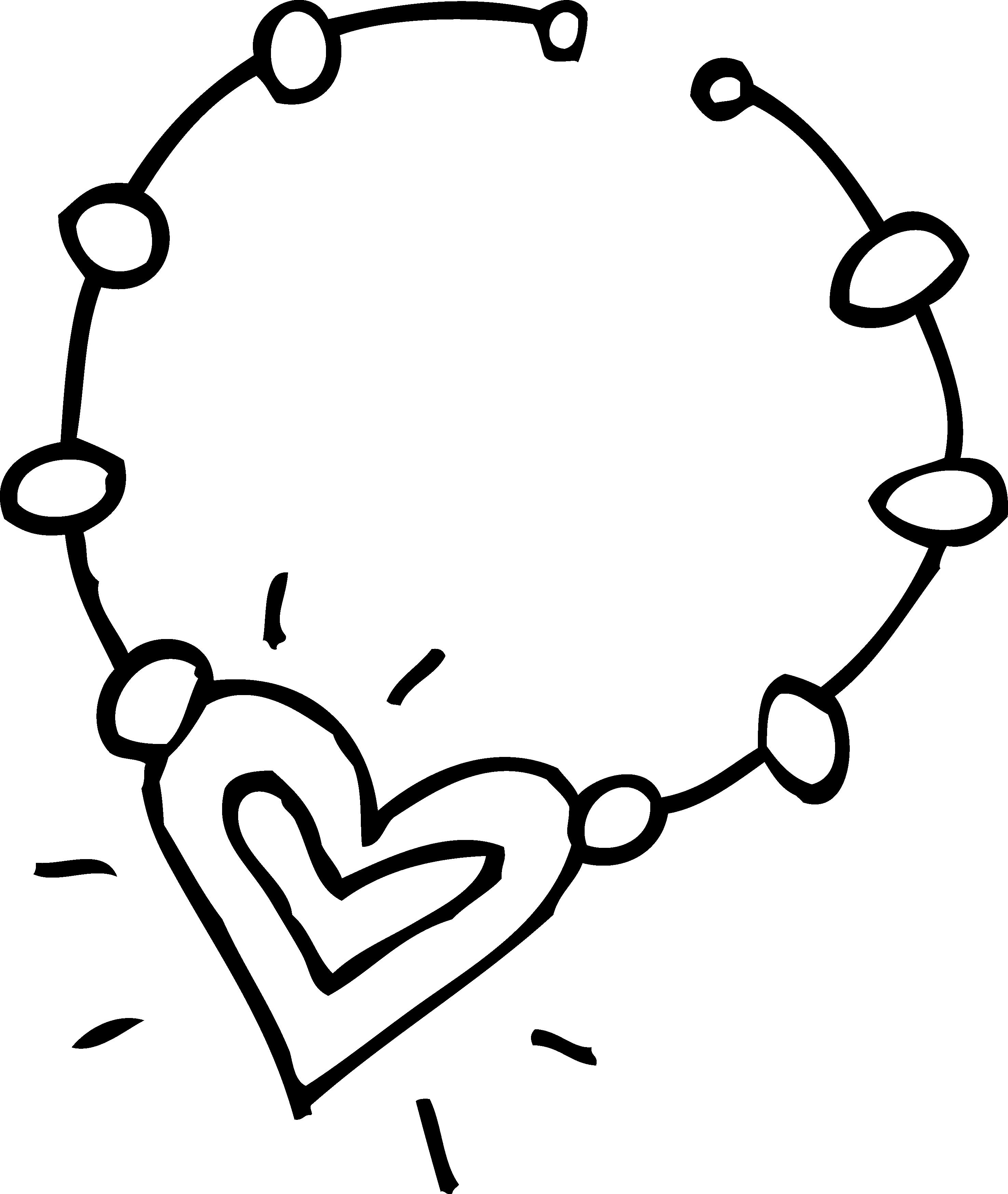 Diamond clipart pile diamond. Heart necklace free download